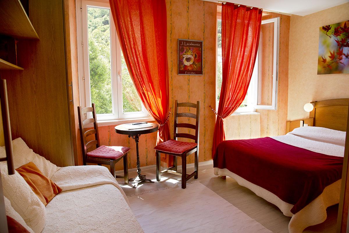 L'hôtel et restaurant Saint Fleuret