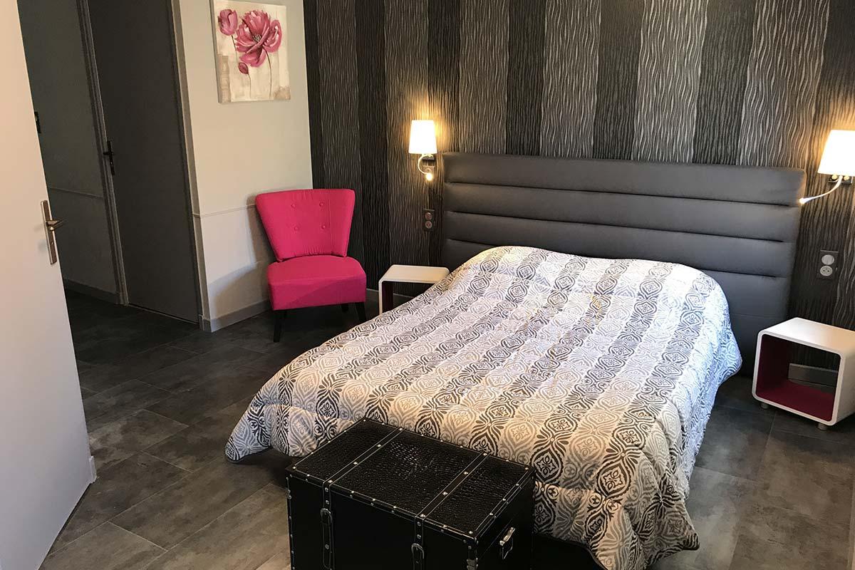 Chambres luxueuses de l'hôtel à Estaing - Auberge St Fleuret